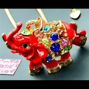 BETSEY JOHNSON~ LUCKY ELEPHANT